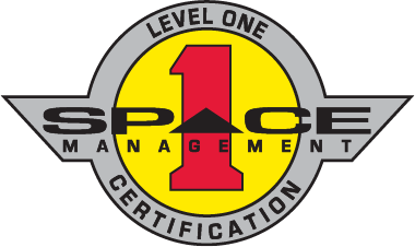 Space Management Level One   Certification Logo