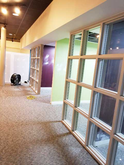 Space Management South Dayton operations center rennovation